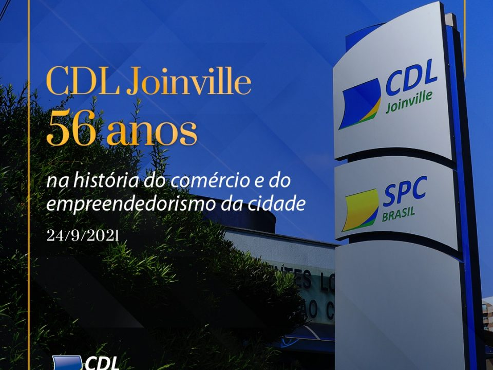 CDL Joinville completa 56 anos